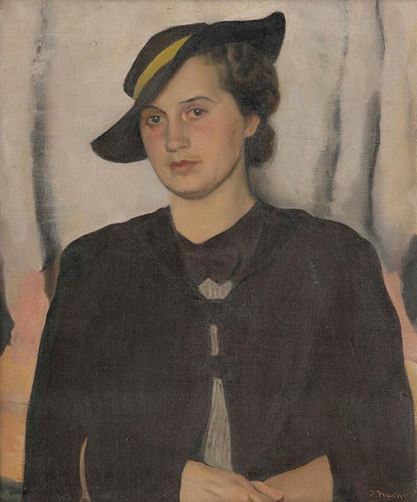 Július Flache - Portrét ženy