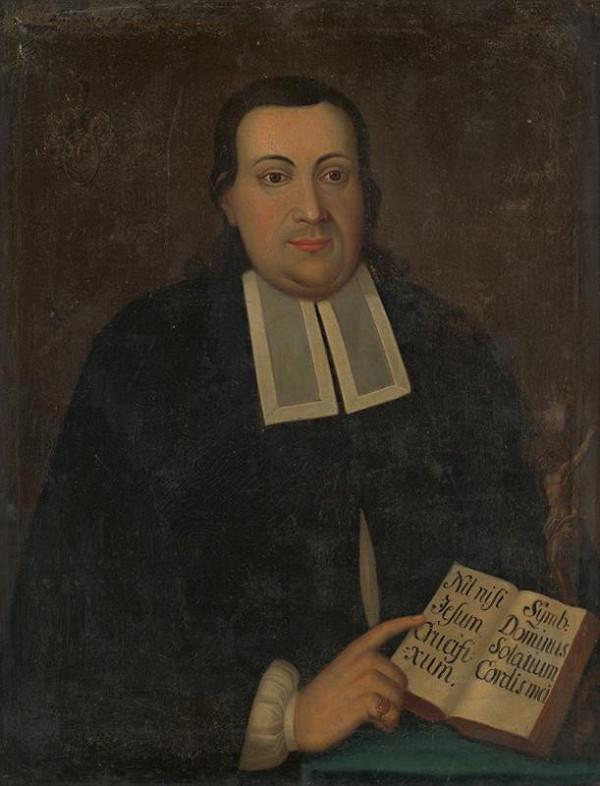 Ján Gottlieb Kramer - Portrét Daniela Sartoriusa