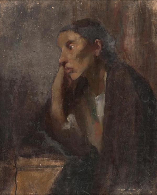 Dominik Skutecký, Neznámy autor – Portrét ženy