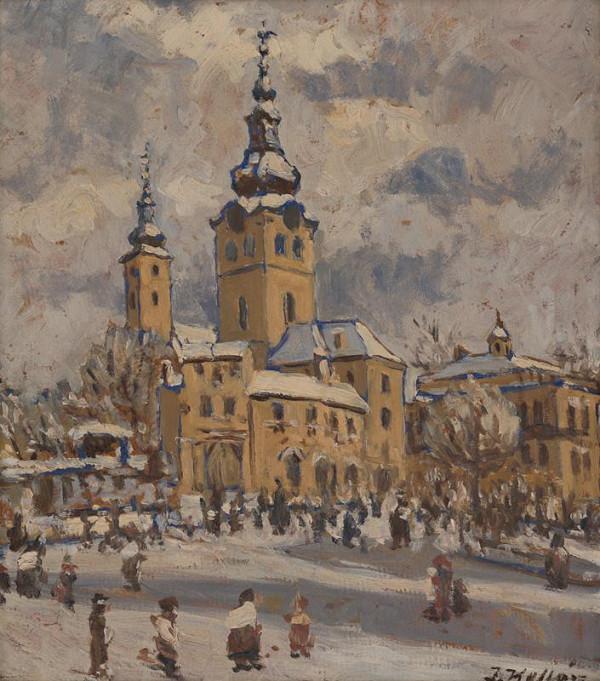 Jozef Kollár - Banská Bystrica v zime