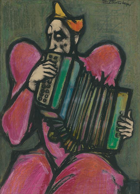 Emil Bačík - Klaun s harmonikou