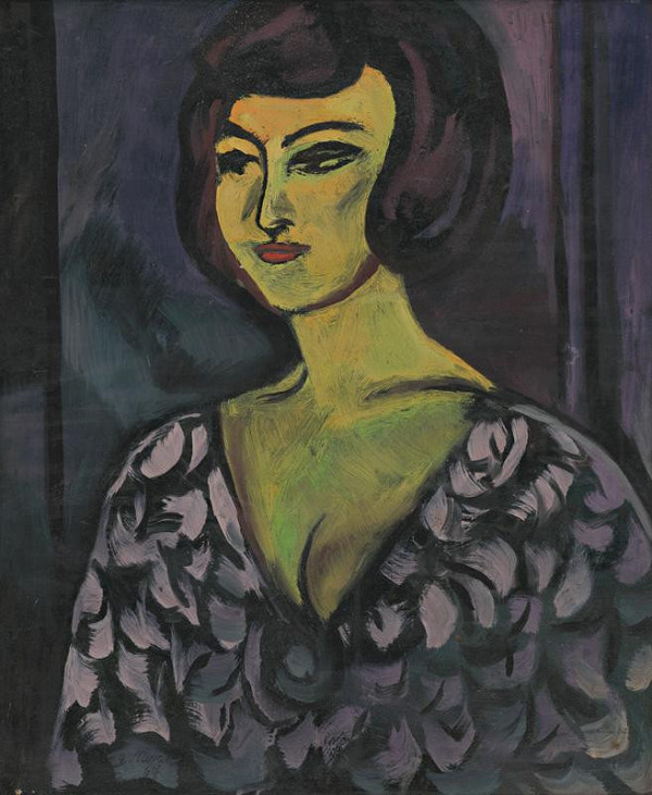 Eugen Nevan - Portrét manželky