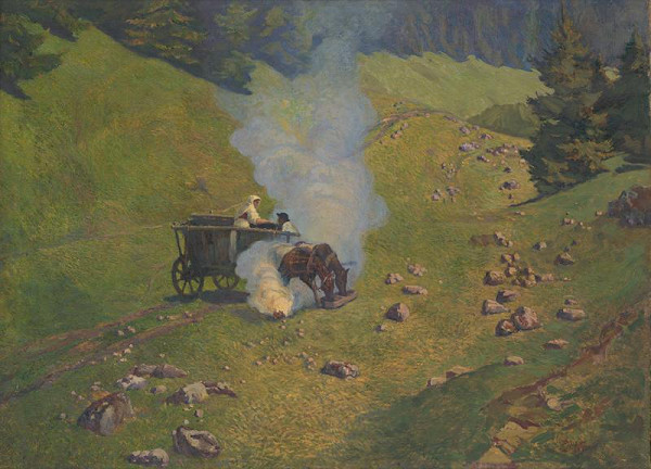 Peter Július Kern – Dolina v Liptove