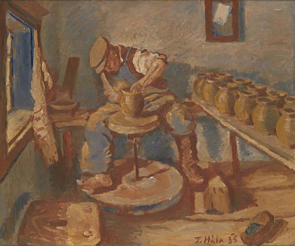 Jan Hála - Hrnčiar