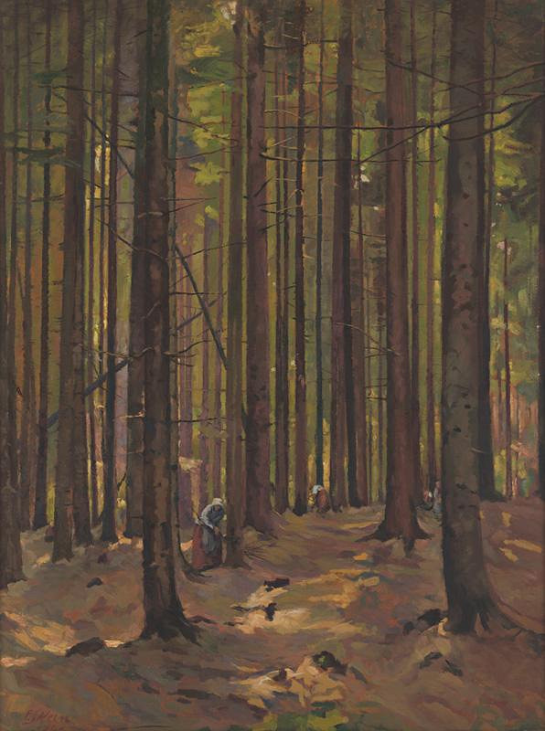 Peter Július Kern – Vnútro lesa
