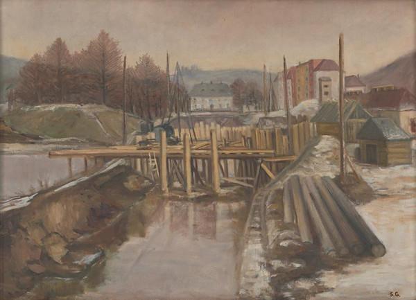 Sibylla Greinerová - Stavba mosta v B. Bystrici