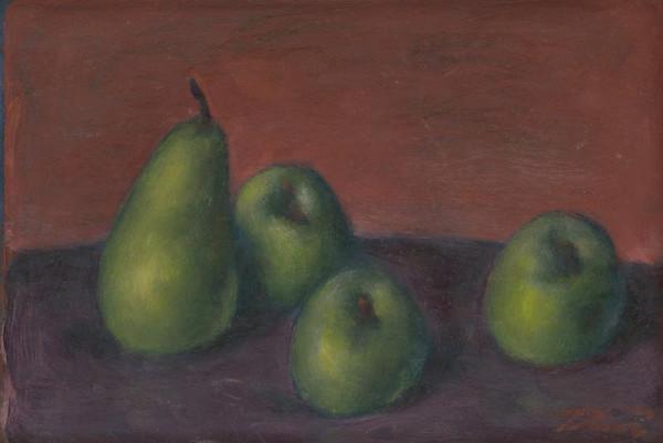 Viliam Ruttkay-Nedecký - Zátišie - ovocie