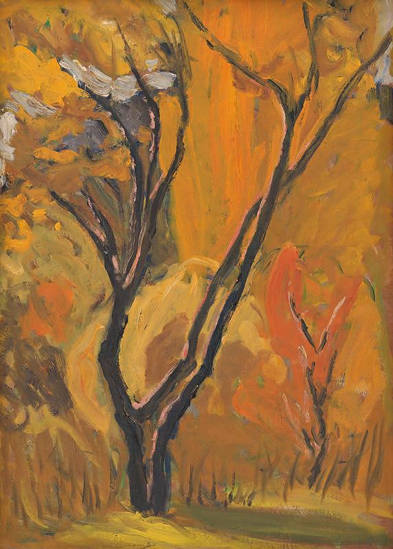 Jozef Kollár - Krajina so stromom
