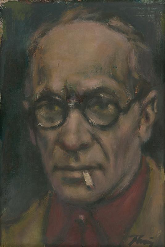 Viliam Ruttkay-Nedecký – Autoportrét