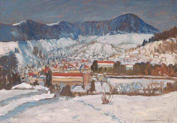 Jozef Kollár – Banská Štiavnica od juhu