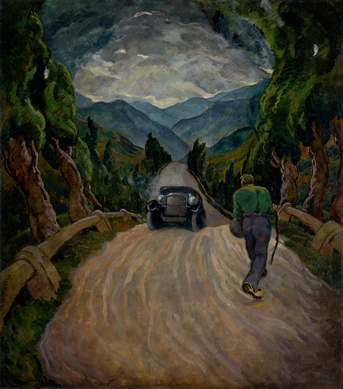 Edmund Gwerk – Cestujúci, 1928