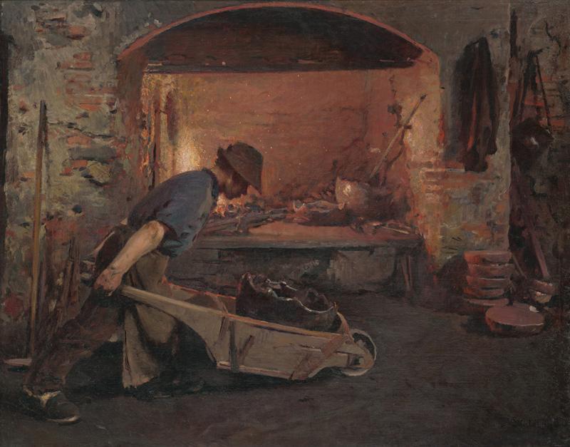 Dominik Skutecký – Ťažký chlieb, 1912, Stredoslovenská galéria