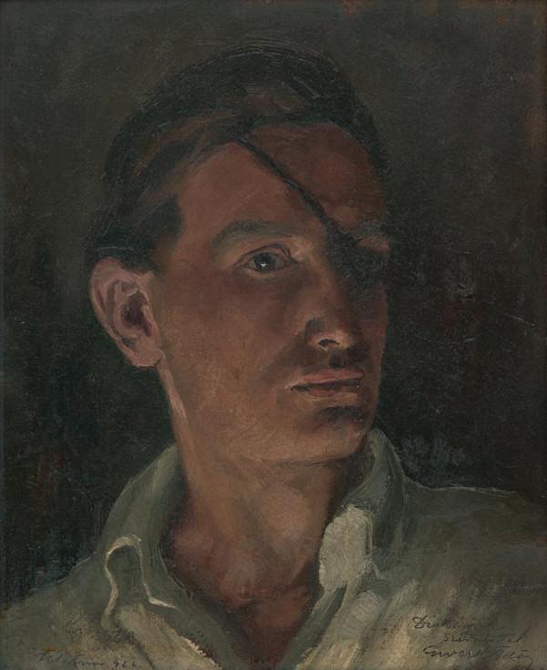 Edmund Gwerk – Autoportrét