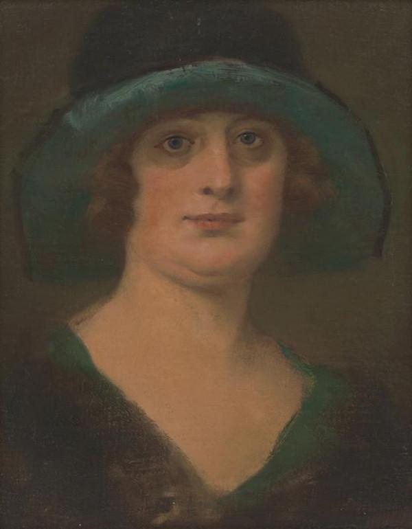 Milan Thomka Mitrovský – Portrét dámy