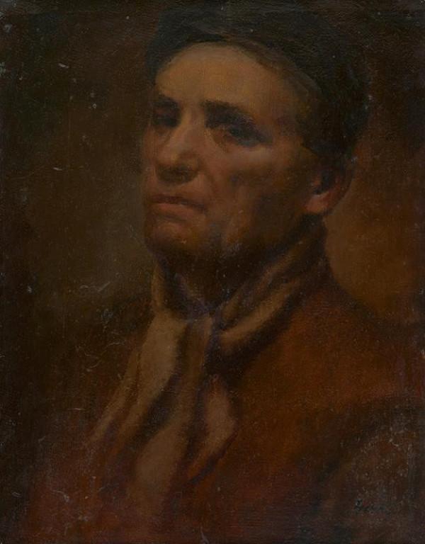 Gustáv Gerö - Autoportrét