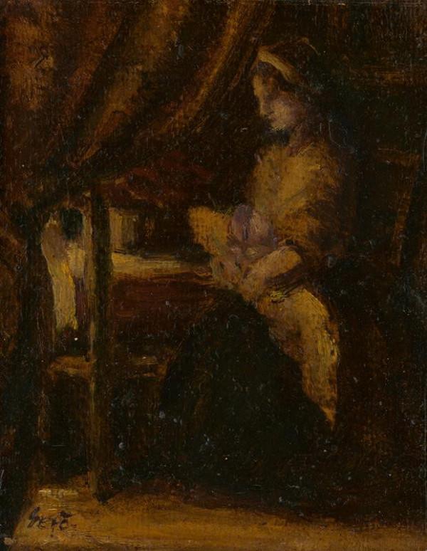 Gustáv Gerö – Matka s dieťaťom