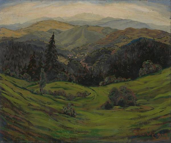 Edmund Gwerk - Krajina z kopaníc