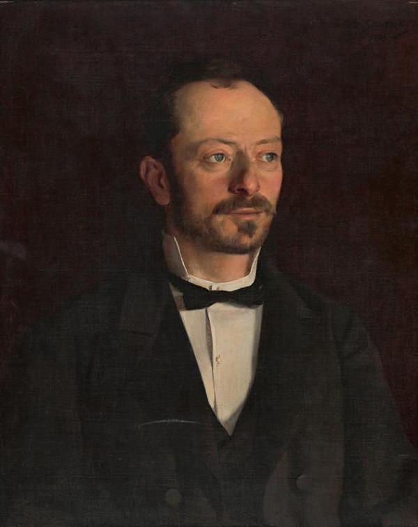Dominik Skutecký – Portrét muža