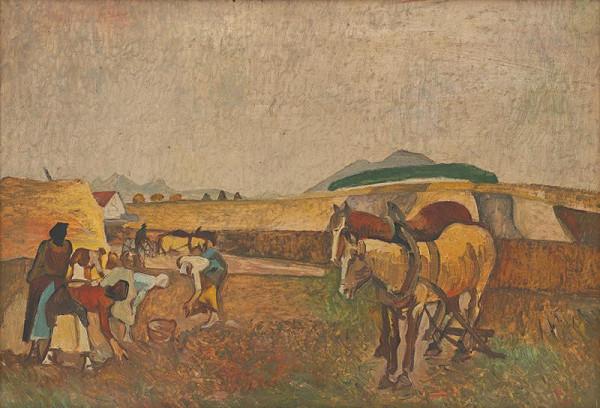 Vincent Hložník - Na poli