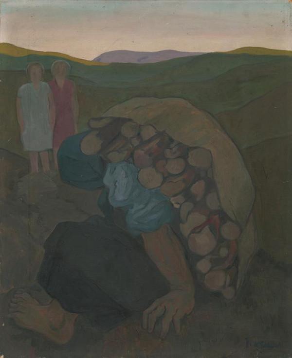 Imrich Weiner-Kráľ - Žena s drevom