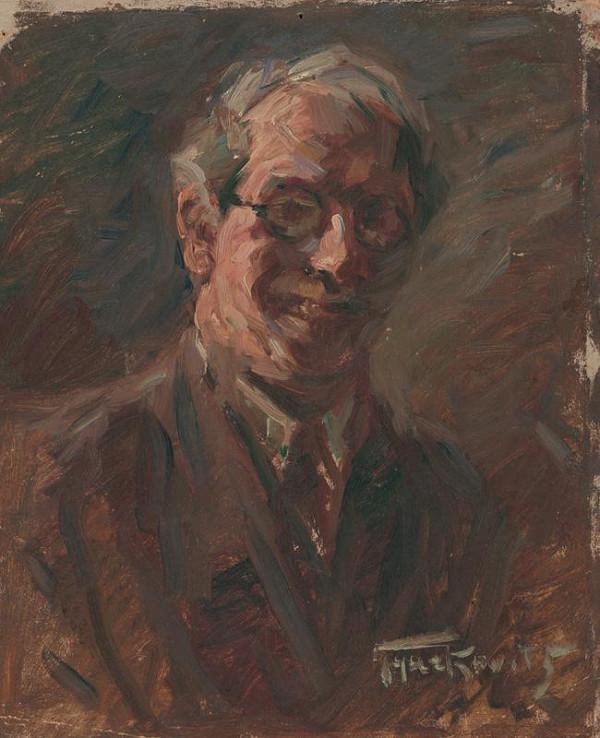 František Gyurkovits – Autoportrét