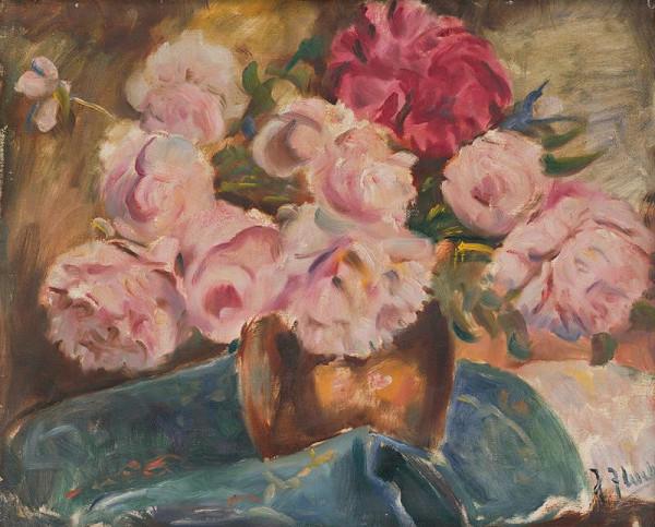 Július Flache – Zátišie kvetov