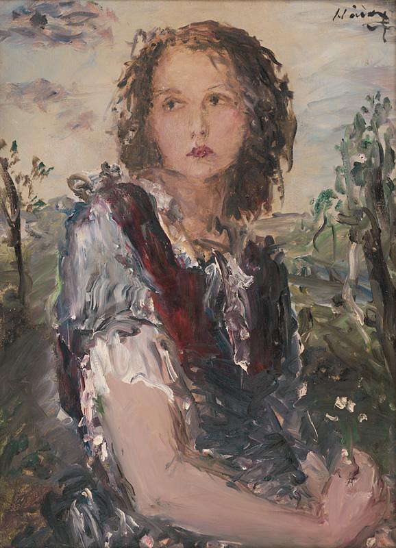 Albert Nyáry – Dievča s kvetom