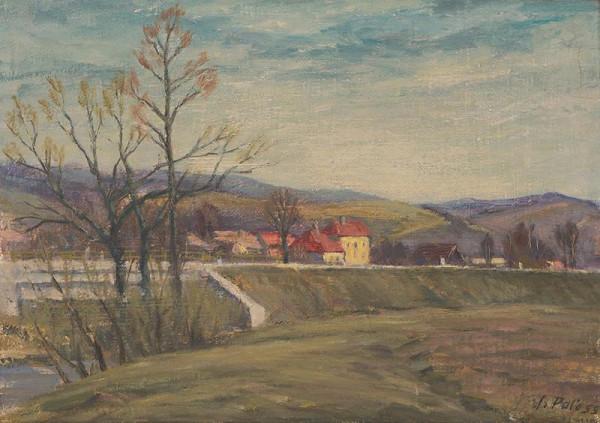 Ján Paľo - Krajina z Hnúšte