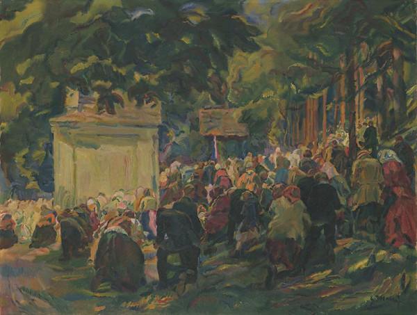 Gustáv Mallý – Deň sv. Anny v Marianskom údolí