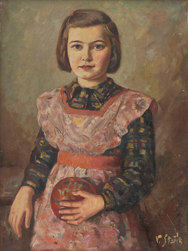 Vojtech Stašík - Dievča s loptou