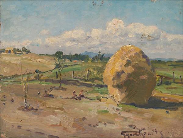 František Gyurkovits - Krajina pri Lučenci