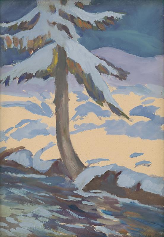 Zolo Palugyay – Strom v zime
