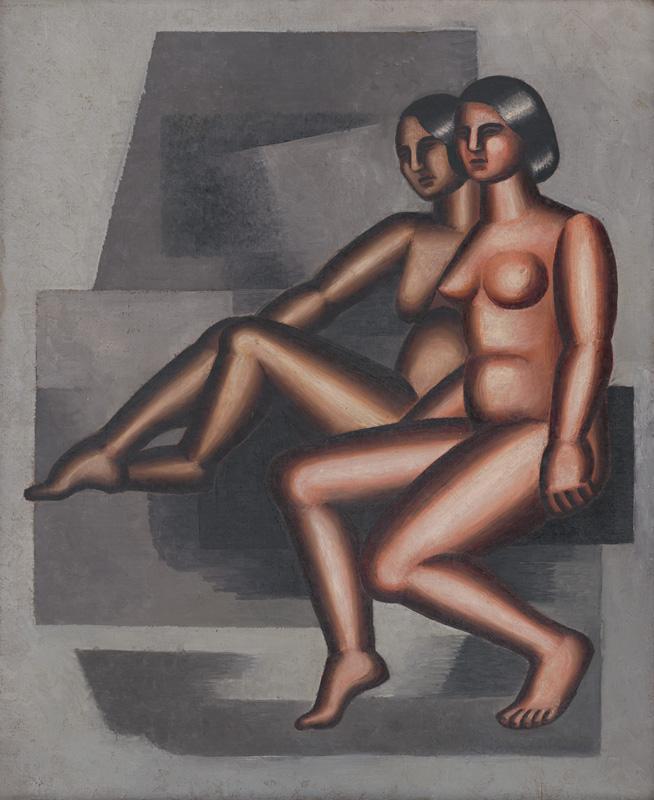 Ester Šimerová-Martinčeková – Dva sediace akty, 1931