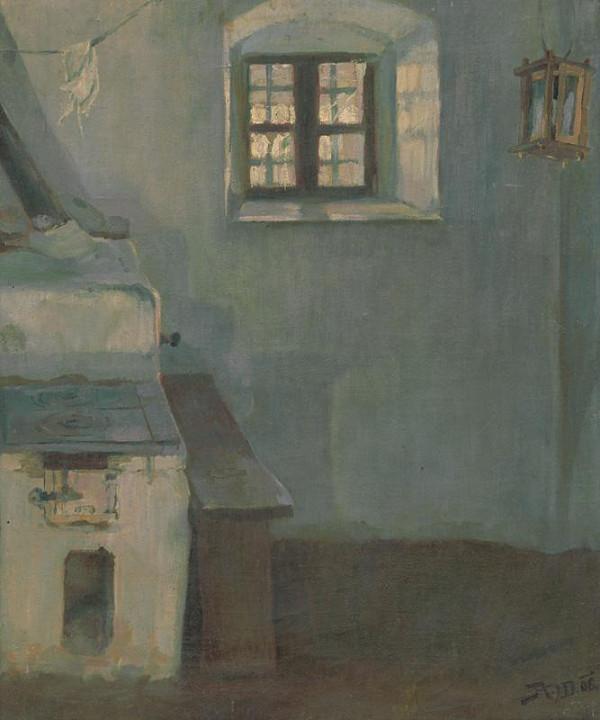 Jaroslav Augusta - Interiér v Detve