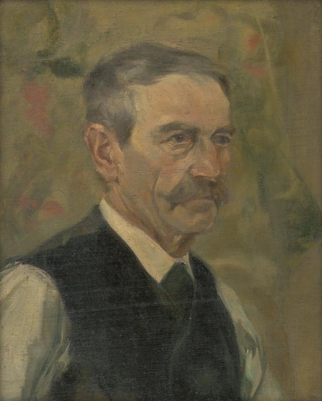 Jaroslav Augusta, Portrét muža, okolo 1920