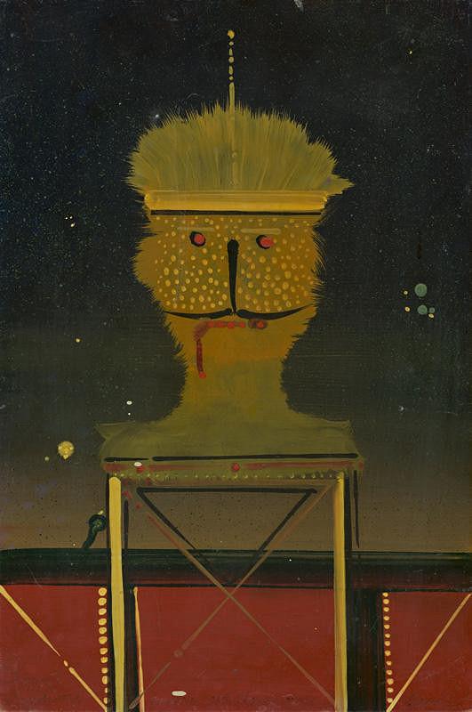 Karol Baron - Portrét s fúzami