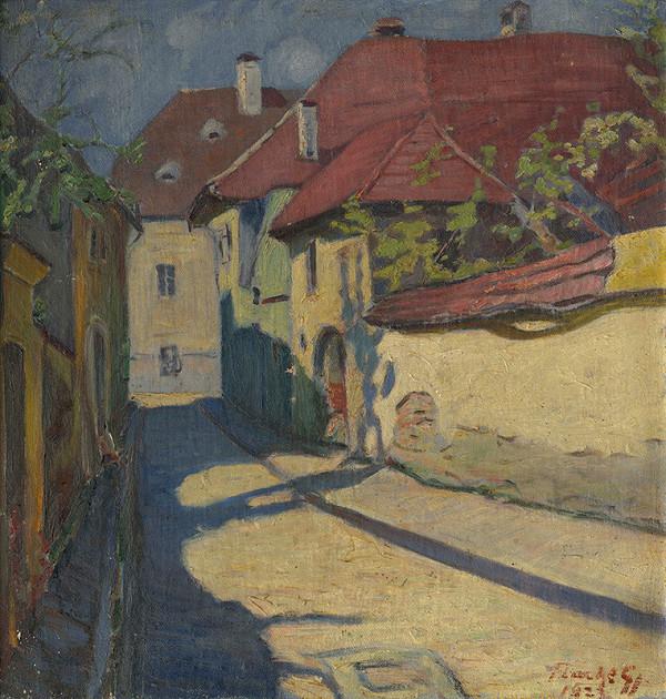 Július Flache - Bystrická ulička