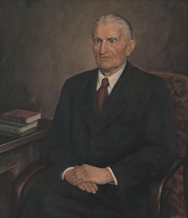 Viliam Ruttkay-Nedecký - Portrét Ivana Krasku