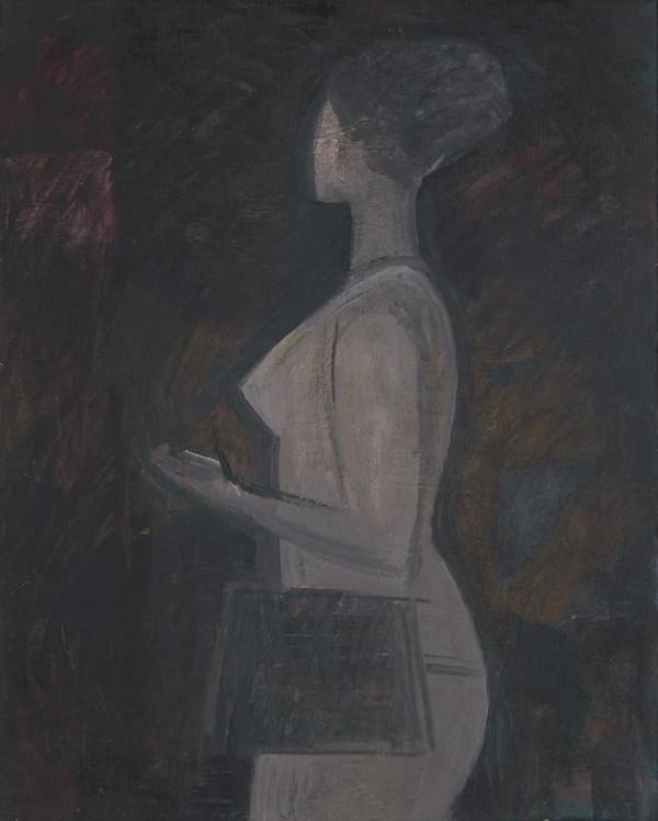 Ján Paľo - Figura v šedom