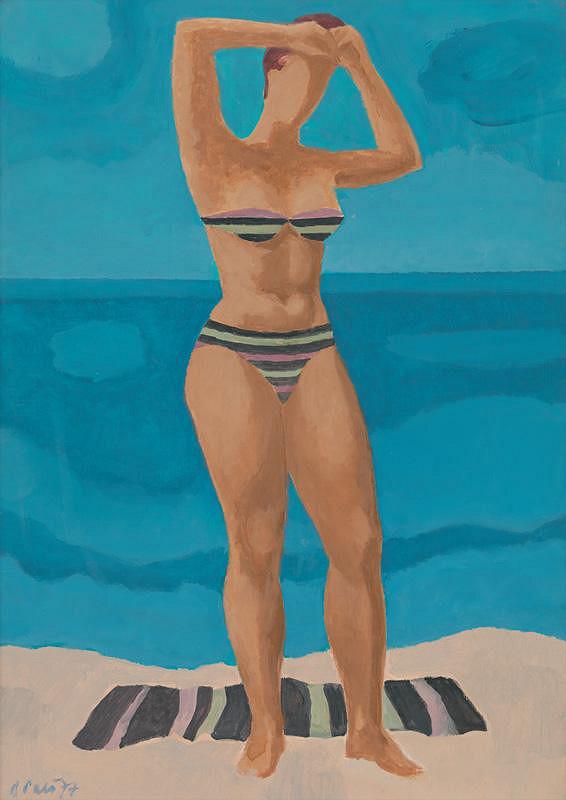 Ján Paľo – Na pláži
