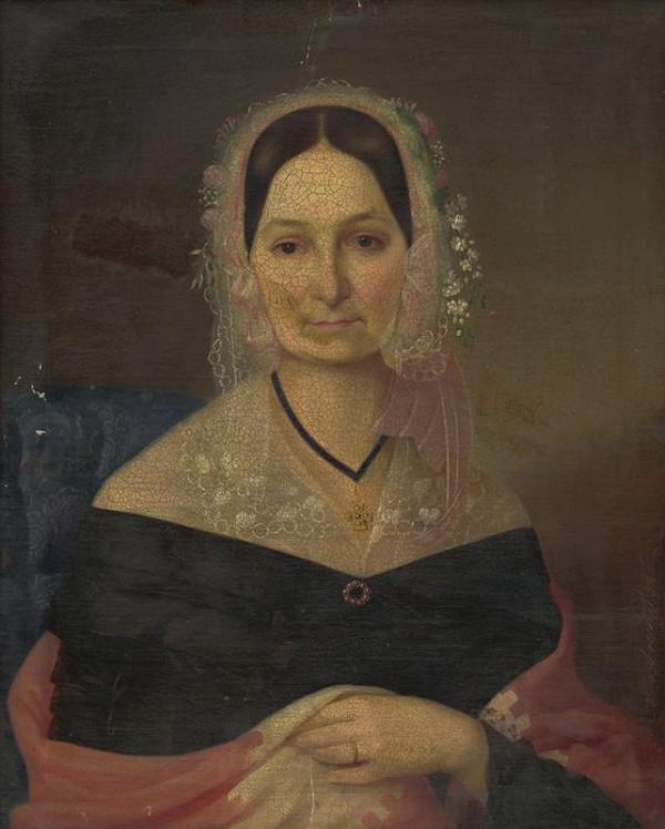 Adela Arentová - Portrét dámy