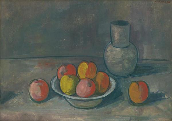 Ambróz Akidos - Zátišie s jablkami