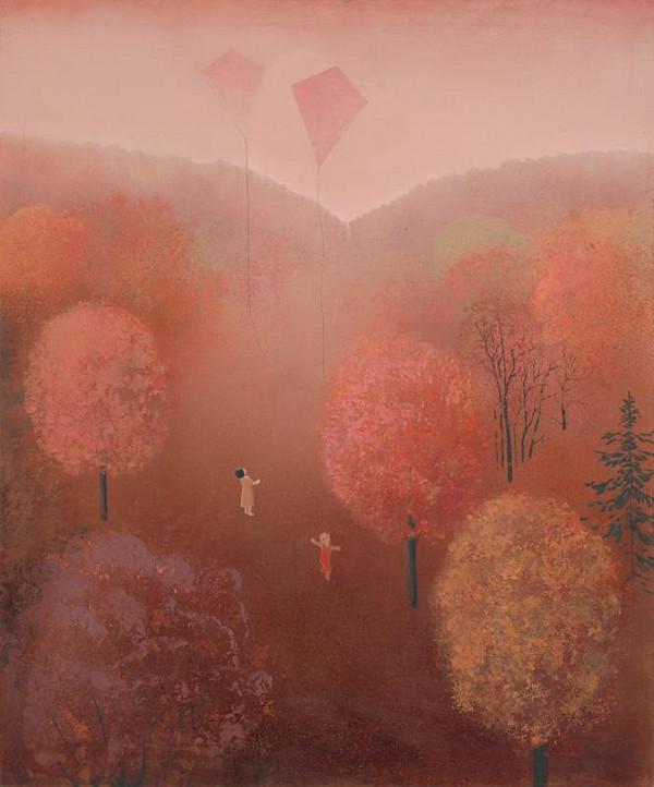 Viera Žilinčanová - Krajina ružových šarkanov