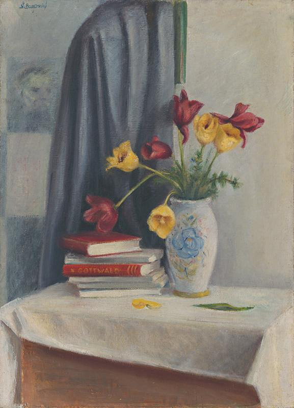 Štefan Bazovský - Tulipány