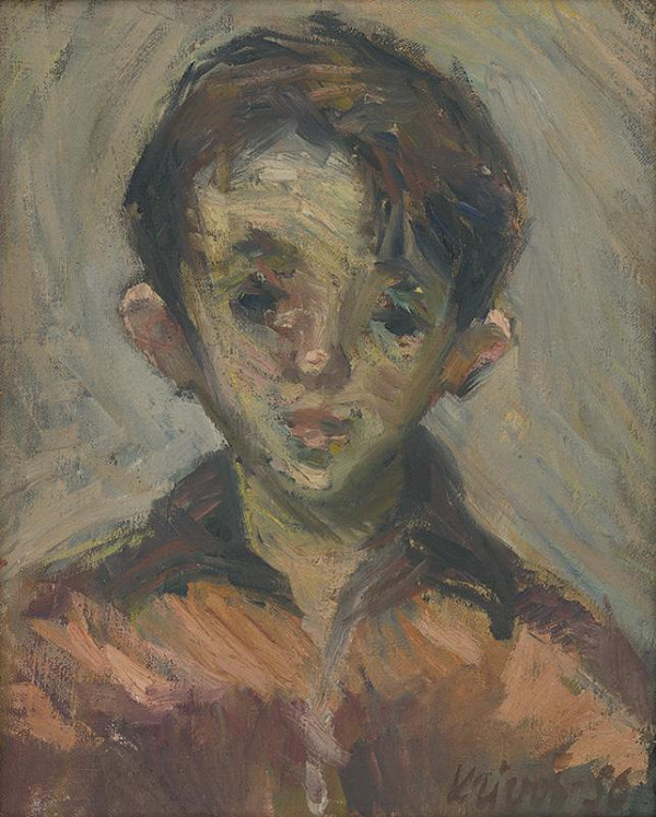 Rudolf Krivoš – Portrét chlapca
