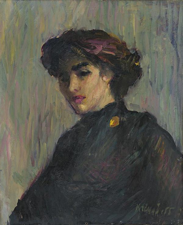 Rudolf Krivoš - Portrét ženy