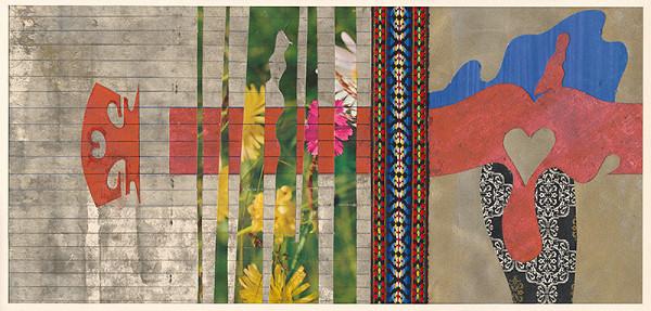 Oto Opršal - Návrh na mozaiku pre závod Slovenka Vranov