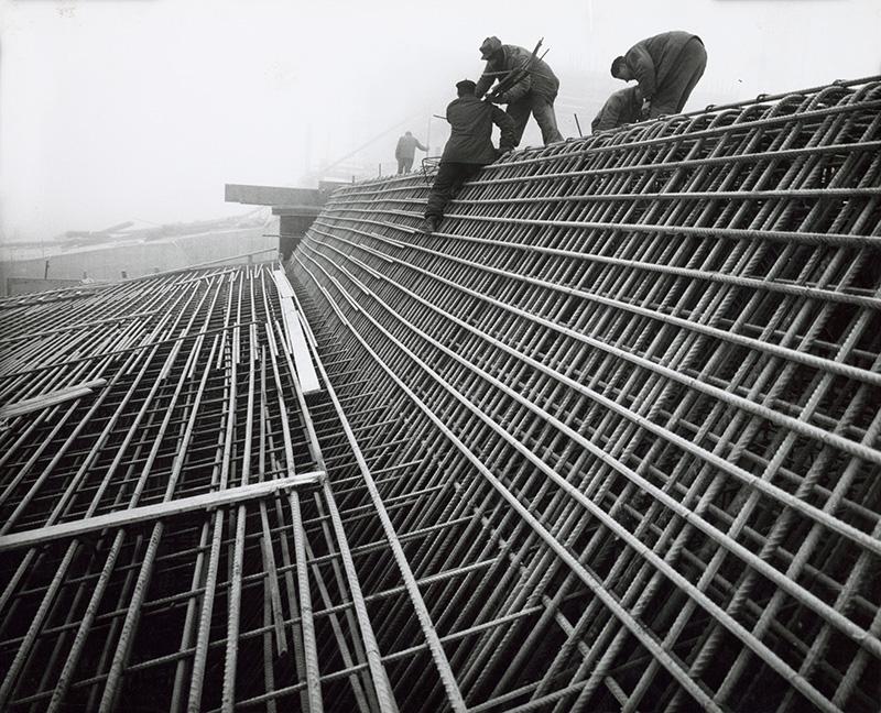 Martin Martinček – Na stavbe priehrady Liptovská Mara, 1972, Slovenská národná galéria