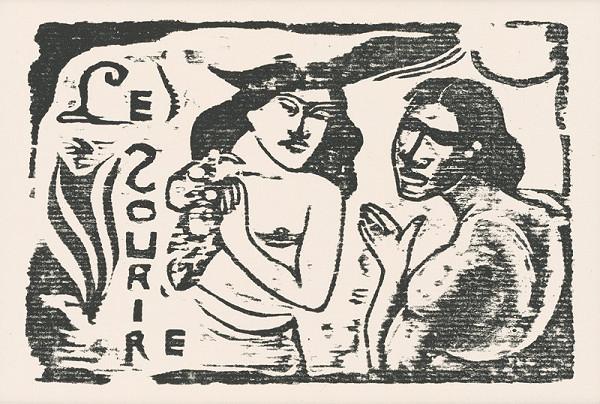 Paul Gauguin – Záhlavie revue Úsmev