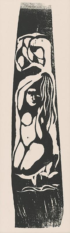Paul Gauguin – Kľačiace dievča